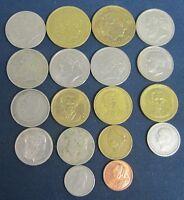 18 vintage Greece coins