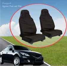 Waterproof Nylon Front Universal car van Heavy duty Black Protectors seat covers