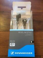 Sennheiser MX475 earphones with bonus Logitech 200vi Headset