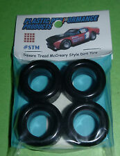 PPP NASCAR 1/25 SQUARE TREAD McCREARY TREAD TIRES SET STOCK CAR MODEL PPP STM