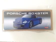 Porsche Blue Boxster Car Collector Series Schylling Tin Toys With COA 2012 Gift