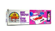 Vintage Six Million Dollar Man Bionic Transport & Repair Station Playset In Box