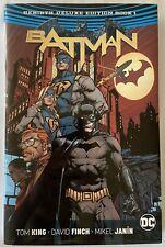 Batman Rebirth Deluxe Edition Vol 1 HC Hardcover Fine Condition