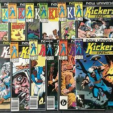 Marvel New Universe Kickers Inc. 1986 Complete 12 Issue Bundle