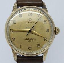 VINTAGE 1950's Omega 33mm Mens Manual Watch c.283 ref.2496-3 Original 25yr Dial