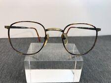 Perry Ellis Authentic 136 Tortoise/black Flex Hinge Round Eyeglasses R47