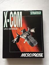 X-COM UFO DEFENSE ENEMY UNKNOWN*COMPLETE*CD ROM PLATFORM*TESTED & WORKS*RARE