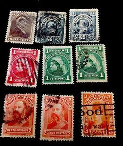 1890 Newfoundland Stamps Used