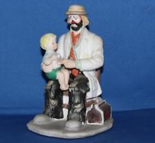 "Emmett Kelly Flambro Exclusive Medical Doctor Hobo Clown 6.5"" Porcelain Figurine"