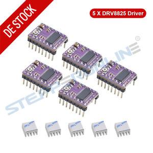 5x DRV8825 Schrittmotor Stepper Motor Treiber Driver für 3D Drucker CNC RepRap