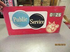 PUBLIC SERVICE REDDY KILOWATT 0625 ELECTRIC COMPANY IN WISCONSIN SIGN