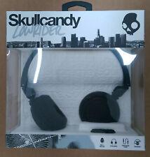 Skullcandy Lowrider NUOVO 2014 On-Ear Cuffie con microfono-nero