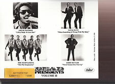 stevie wonder james brown curtis mayfield sam & dave limited edition press kit
