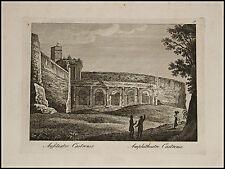 1818c.Inc/Rame.ROMA: ANFITEATRO  CASTRENSE. par NIBBY - Parboni-Ruga.