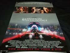 "ARTIFICIAL INTELLIGENCE MOVIE POSTER - HALEY JOEL OSMENT - 27"" X 40"" - RP 111"