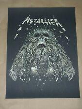 Metallica Moth Into the Flame poster screen print art Richey Beckett