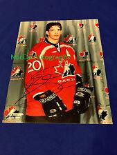Colorado Avalanche Joe Sakic Hand Signed 8x10 Photo Canada Olympics