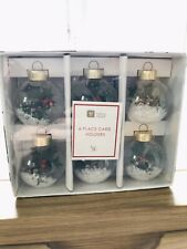 Christmas Place Card Holders
