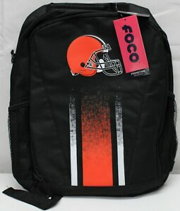 FOCO NFL Cleveland Browns Stripe Primetime Backpack