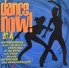 Dance Now 97-4 Kosmonova, A.K.-S.w.i.f.t., Vertigo, C-Block, Olive, Sco.. [2 CD]