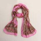 Women Fashion Vintage Lady Girls Long Soft Chiffon Scarf Wrap Shawl Stole Scarve