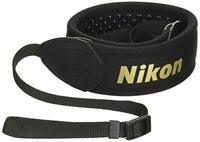 Nikon Neck Soft Rubber Strap AN-SNP001 Camera Accessories NEW from Japan