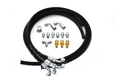 Hydroboost Brake Booster 4 Line High Pressure Hose Kit w/ AN & Pushlock Fittings