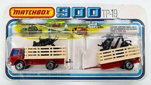 1979 Matchbox 900 TP-19 Dodge Cattle Truck & Trailer