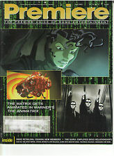 ANIMATRIX MATRIX KEANU REEVES FACTS CARRIE ANNE MOSS FRIDA 007 CANADIAN RETAILER