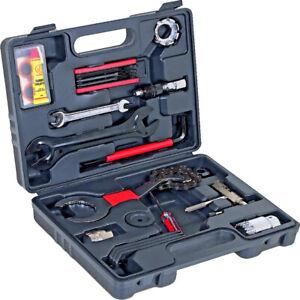 WALTER Fahrrad Werkzeugkoffer 18tlg für Rennen oder Hobby Reparatur Service Box