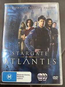 Stargate Atlantis Season 2 TV Series DVD Region 4 AUS - Free Postage