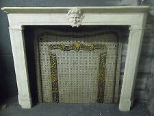 Cheminée Régence /Cheminée ancienne / Cheminée marbre / Fireplace