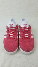 Adidas Gazelle red white Men's Low-Top retro nubuck sneakers trainers