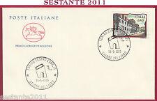 ITALIA FDC CAVALLINO SALONE DEL LIBRO TORINO LICEO PARINI MILANO 1989 U180