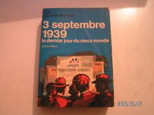 **a J'ai lu bleu A128 / 129 Adrian Ball 3 septembre 1939