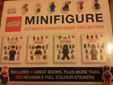 PACKS OF REUSABLE STICKERS.2 X LEGO & 1 X MOSHI MONSTERS ULTIMATE STICKER BOOKS