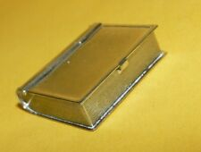 Signed Vtg 925 Sterling Silver Pill Box Case