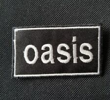 OASIS PATCH BADGE PUNK ROCK HEAVY METAL MODS MUSIC SEW ON IRON ON PATCH BIKER