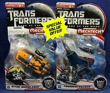New NITRO BUMBLEBEE & THUNDERCRACKER - 2 Transformers MECHTECH Autobots CAMARO