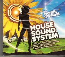 (GC11) The World's Greatest House Sound System, 3CD - 2007 Sealed CD