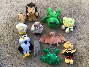 Eleven Assorted Garden Creatures