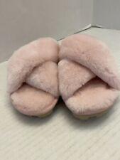 UGG Australia Fuzzette Genuine Shearling Slipper New $90 1107955 Size 6 Pink