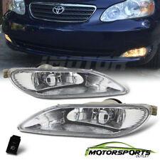 2002-2004 Toyota Camry/2005-2008 Corolla Bumper Fog Lights+Switch & Wiring Kit