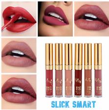 Lipstick Liquid BEAUTY GLAZED makeup lips waterproof matte long lasting 6 pcs