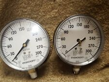 Ashcroft 35W1005P 02L Xul 300 water fire protection gauge 5Wj63 Nos