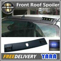Front Roof Spoiler Cover LED Light  For Toyota Hilux M70 M80 SR5  2015-Onwards