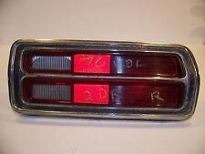 1976 PLYMOUTH VOLARE RH TAILLIGHT OEM # 3881004, 3881006, 3881008