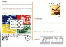 BRD (BR.Duitsland) PSo42 Officiële Speciale Postkaarten gefälligkeitsgestempelt