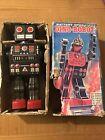 Vintage Horikawa Battery Operated Dino-Robot Tin Toy, Japan Godzilla Monster 60s