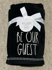 Rae Dunn Be Our Guest Hand Towel